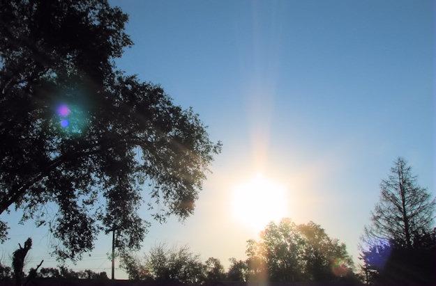 blue skies, September 10, 2011
